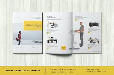 Contoh brosur produk furniture
