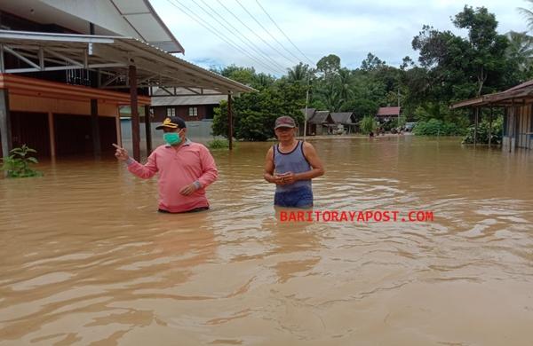 Banjir di Benangin, 17 Rumah Terendam