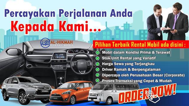 Manfaat Sewa Mobil Menggunakan Jasa Al-Hikmah Rental Mobil Palembang