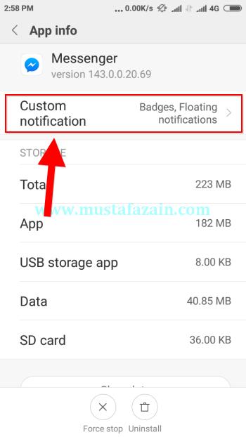 Cara Menampilkan Balon Messenger Pada MIUI Xiaomi