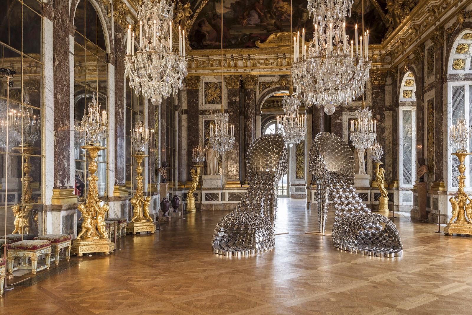 Chateau Versailles Decoration Noel