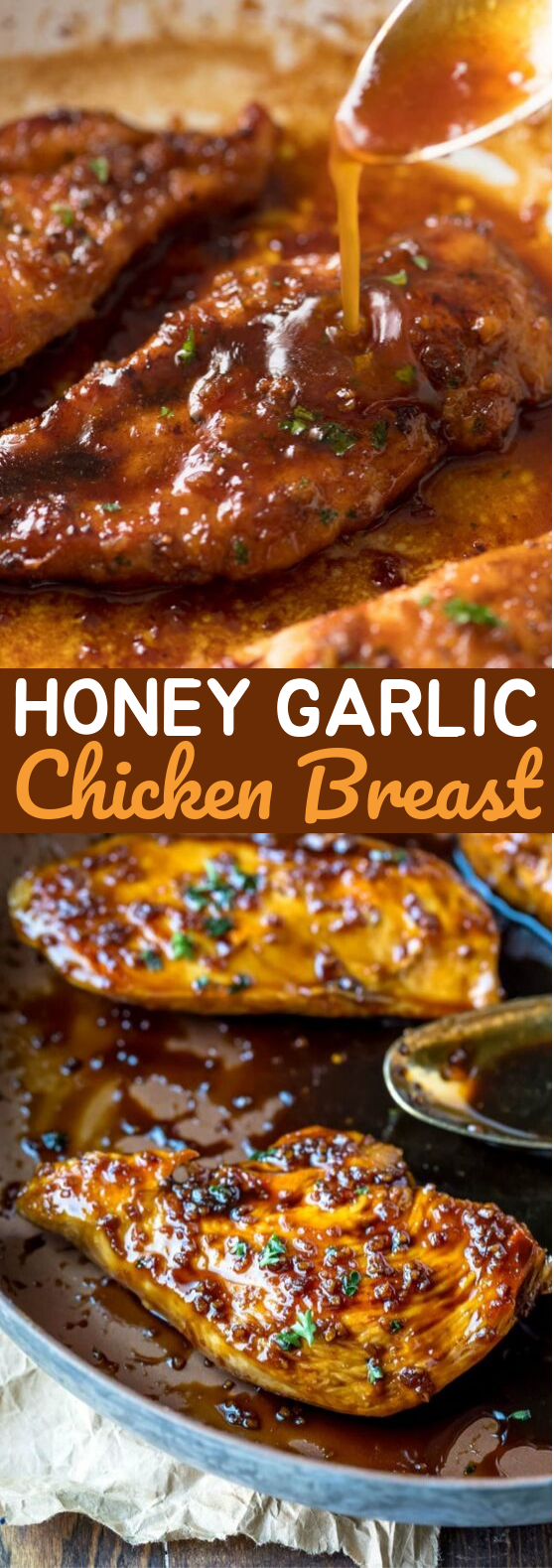 Honey Garlic Chicken Breast #dinner #chicken