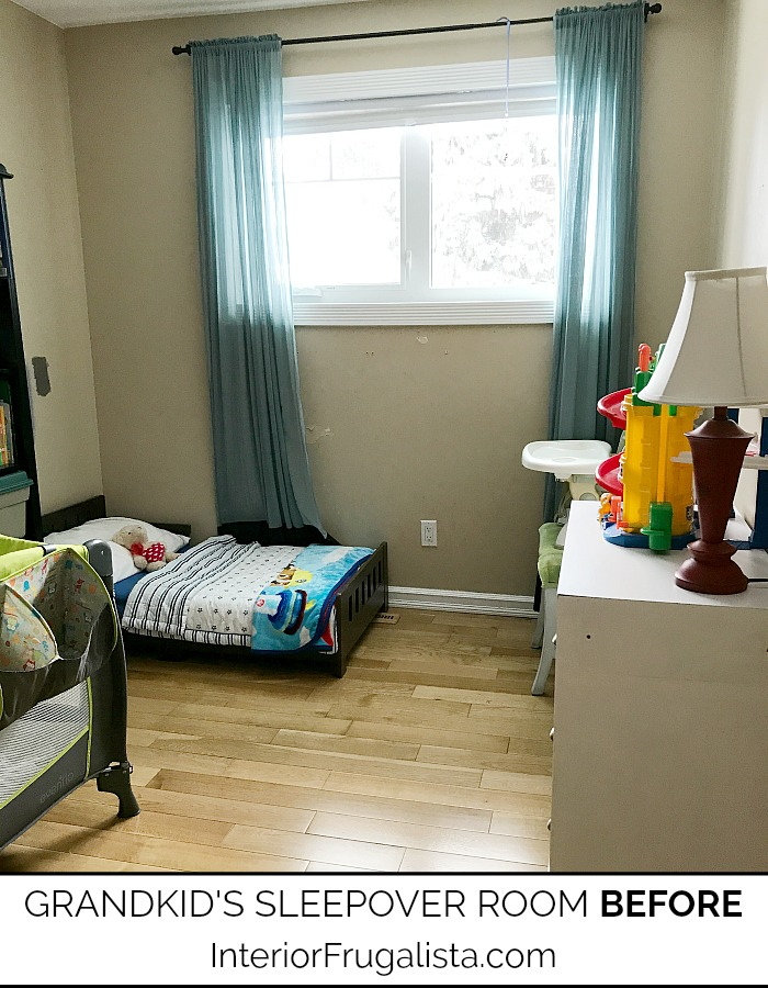Grandkids Sleepover Room BEFORE