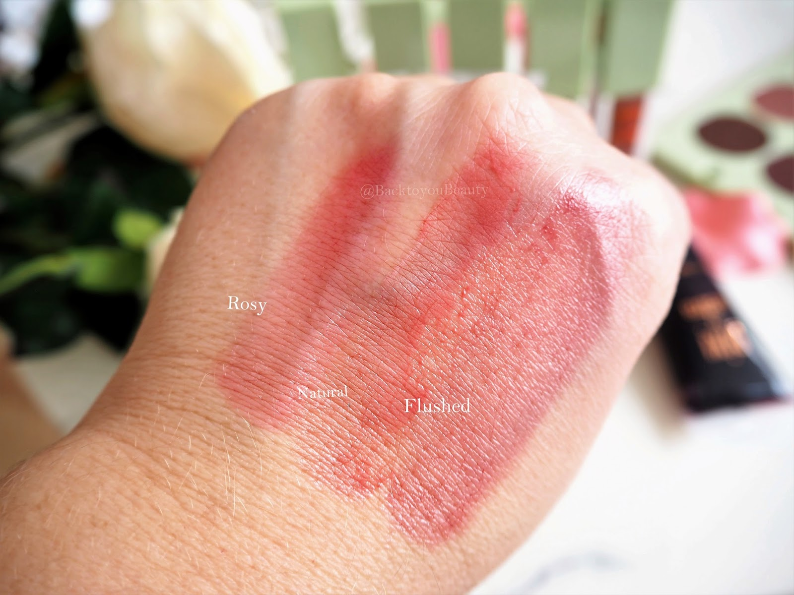 Pixi Sheer Cheek Gel swatch
