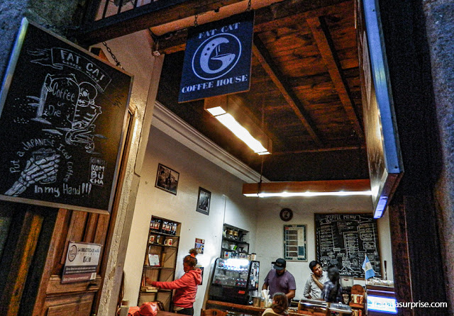Café em Antigua: Fat Cat Coffee House