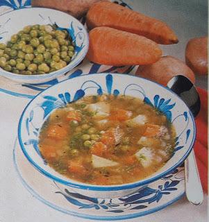 Cocina Ecuatoriana - Sopa de verduras
