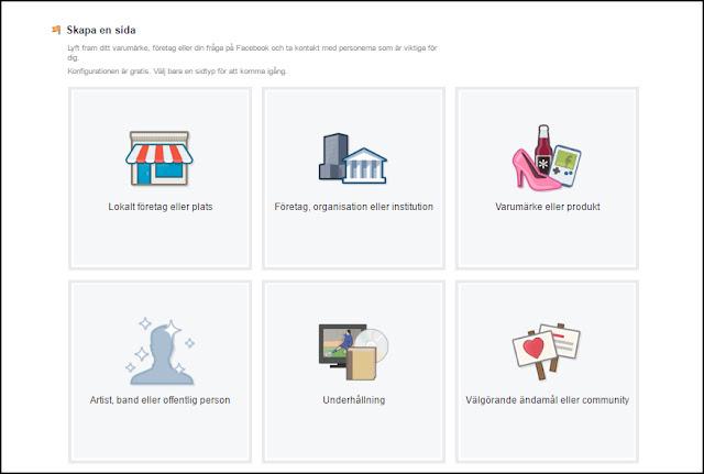 Hur man skapar en företagssida på Facebook - Del 1