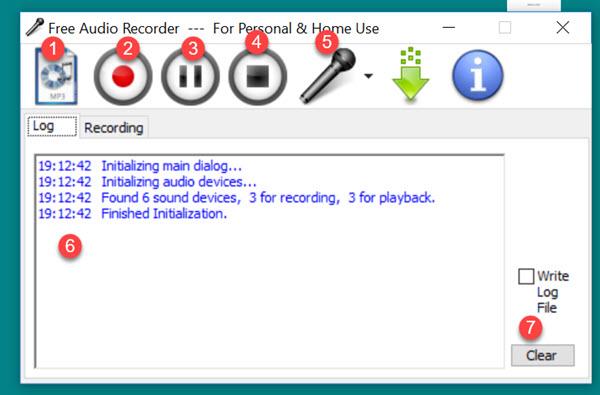 طريقة تسجيل الصوت وحفظه بصيغة mp3 ام بي تري