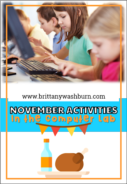 November Activities for the Computer Lab