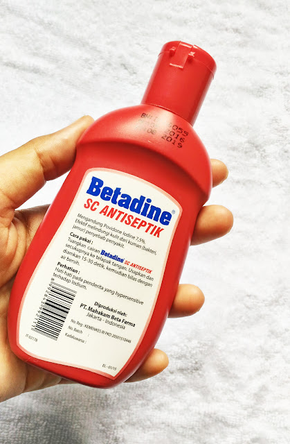 Review betadine sabun cair sebagai sabun pembasmi kuman bakteri dan jamur
