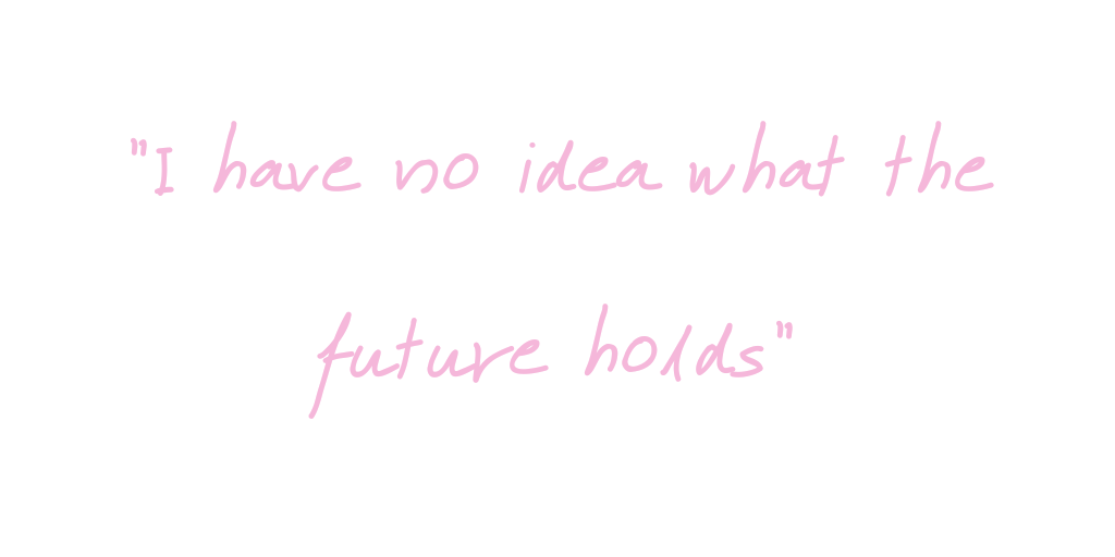 "A quote by myself which reads ""I have no idea what the future hold"" on thelifeofaglasgowgirl"