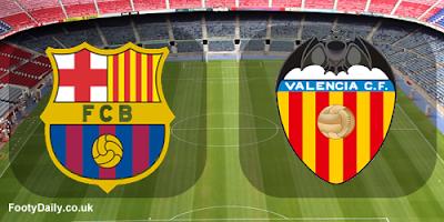 موعد وتشكيل مباراة برشلونة وفالنسيا - اليوم الاحد 6-10-2018