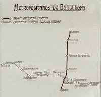 Lineas de metro en 1925
