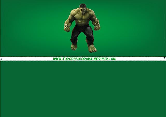 faixa lateral do hulk