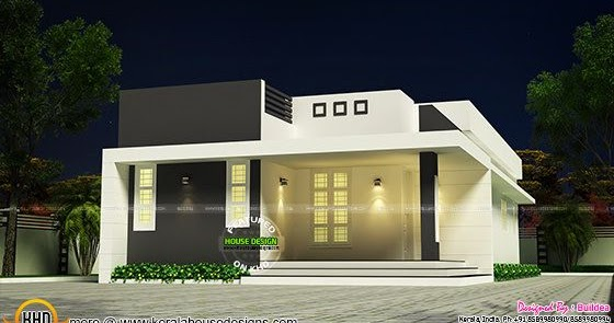 Simple And Beautiful Low Budget House Kerala Home Design And Floor Plans