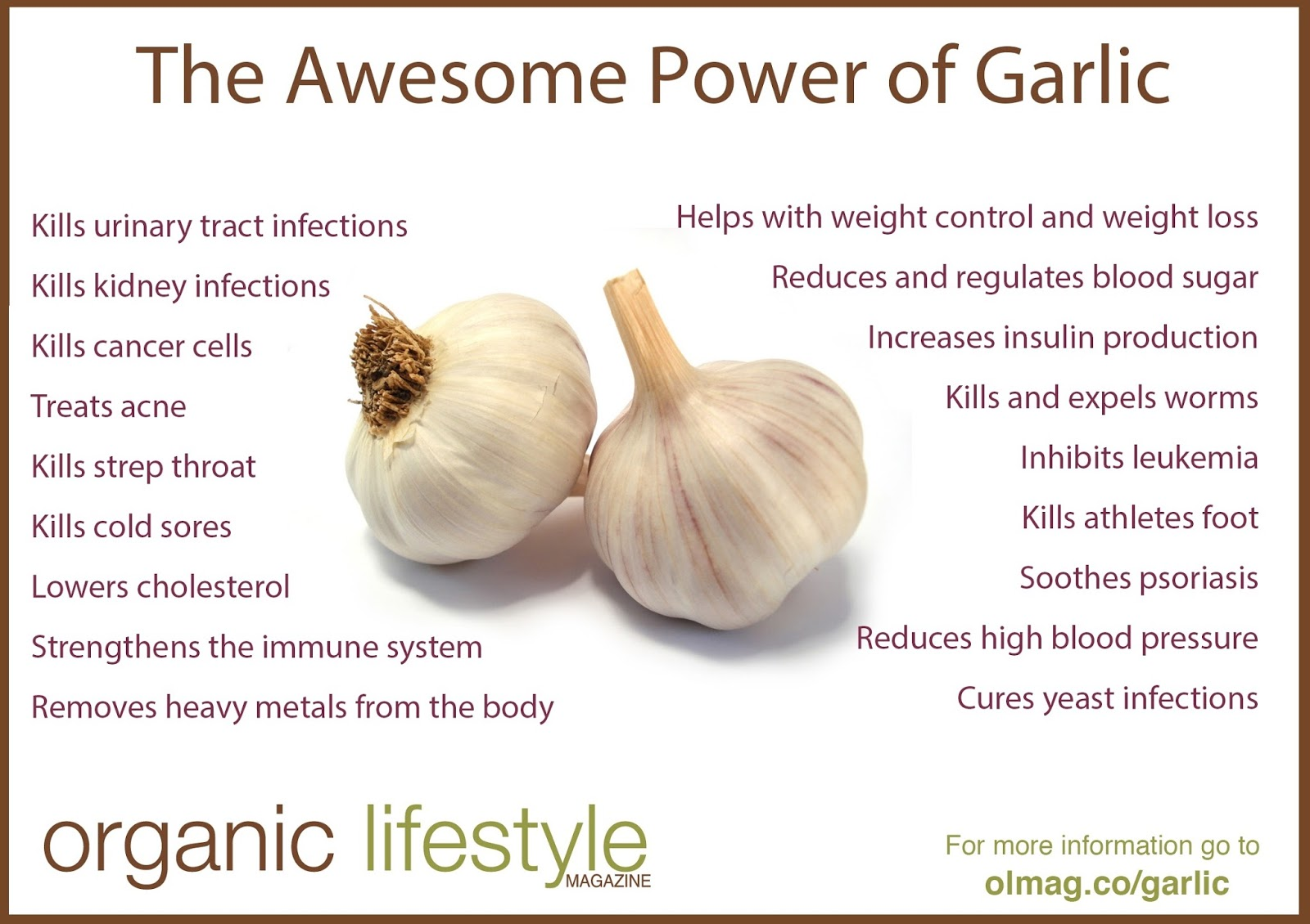 Garlic - natural detox