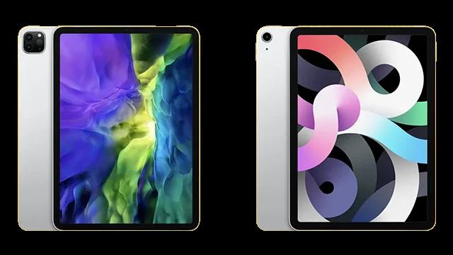 Comparaison entre l'iPad Air 2020 et l'iPad Pro .. lequel est le meilleur pour vous?