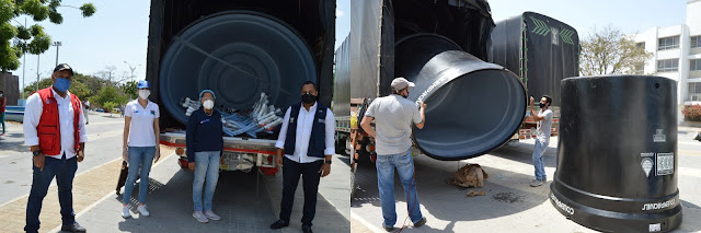 Instalarán tanques para almacenar agua en Riohacha y comunidades indígenas