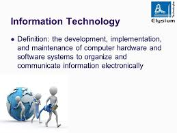 Definition of Information Technology