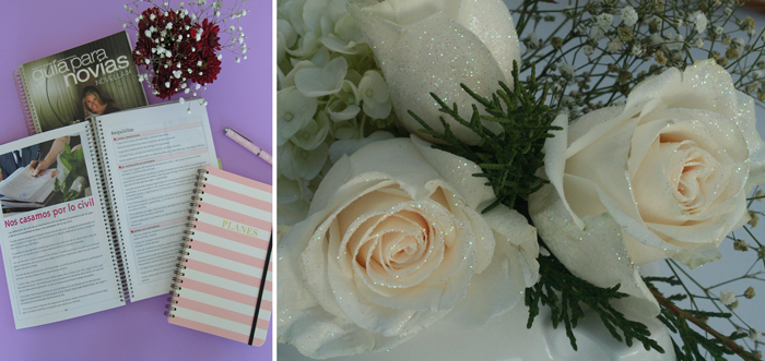 VALENTINA VAGUADA: boda, planificar, flores, rosas, planificadora de eventos, agenda, planner