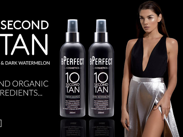 Get A Flawless Tan In Seconds Thanks To BPerfect Cosmetics 10 Second Tan