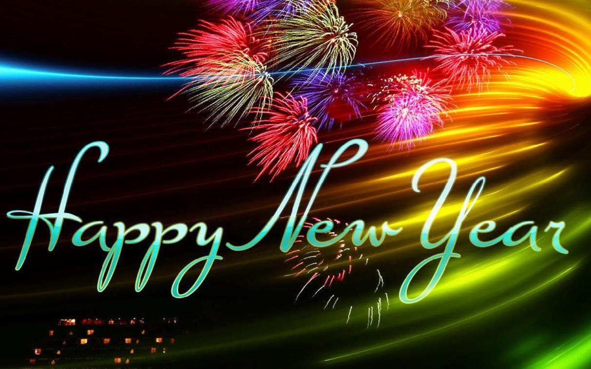 gambar ucapan tahun baru bergerak