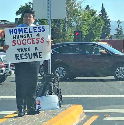 Homeless Man Gets Multiple Job Offers After This Pic Went Viral