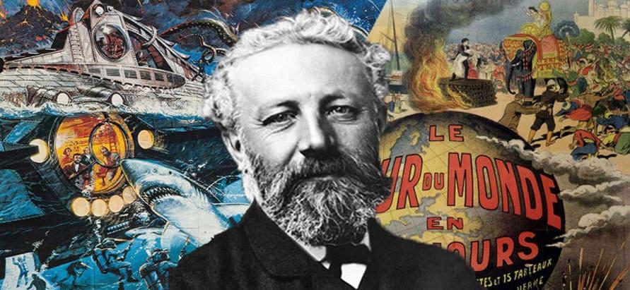 Imagem de: 5 Grandes Obras de Júlio Verne para Baixar Grátis