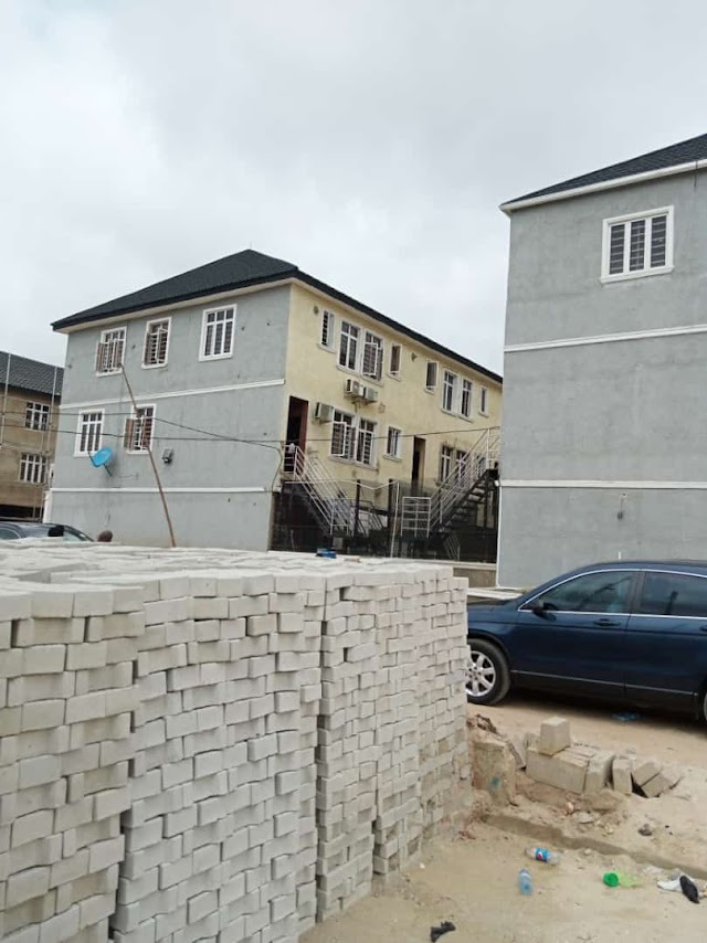 SURULERE: 4 Bedroom Terrace Duplex at Colindale Park Estate