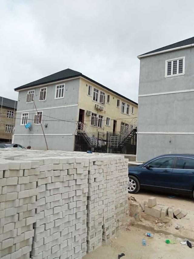 SURULERE: 4 Bedroom Terrace Duplex at Colindale Park Estate