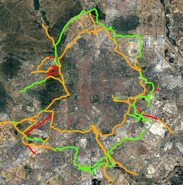 Bosque Metropolitano conexiones ciclistas