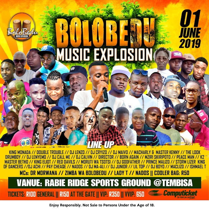 Zimba wa Bolobedu brings Double Trouble to Tembisa and more artists from Limpopo, it's an EXPLOSION