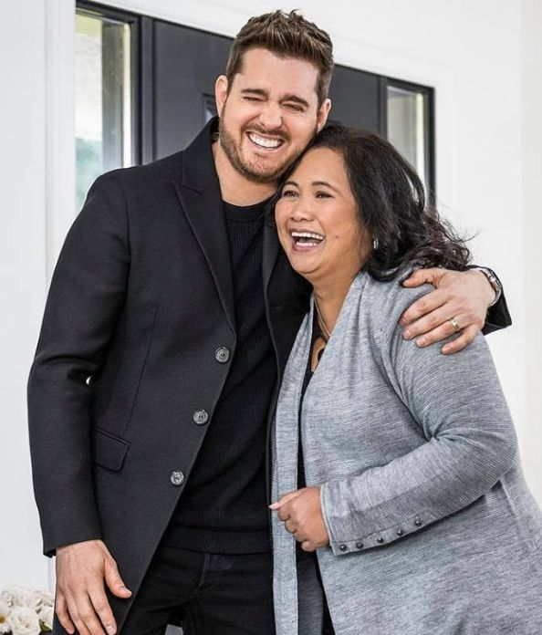 Michael Bublé gives grandpa's home to Pinay caregiver