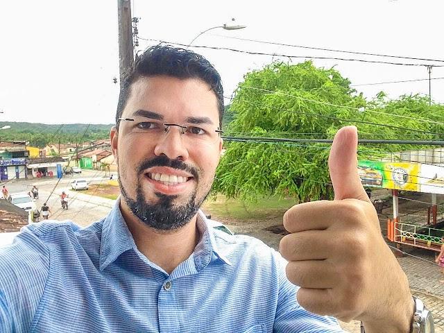 Advogado Vanderson Sousa Schramm agradece pela repercussão positiva de sua pré-candidatura