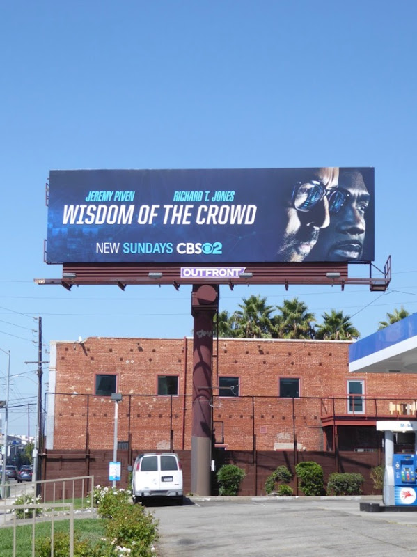 Wisdom of Crowd CBS series billboard