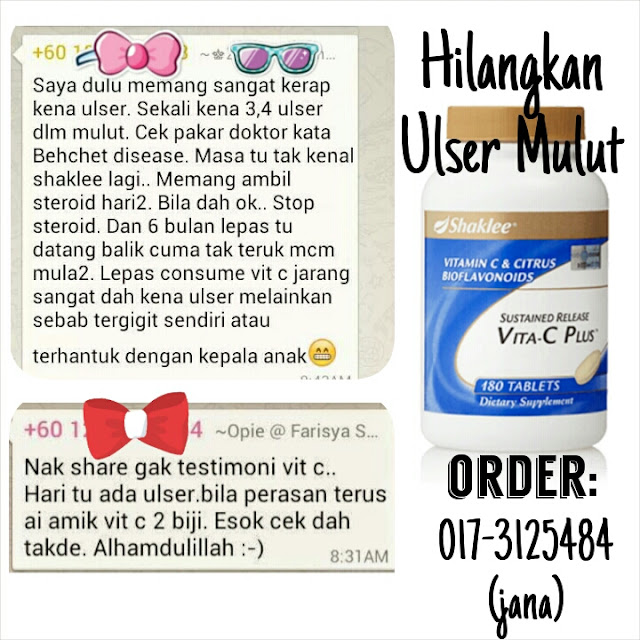 vitamin untuk ulser mulut