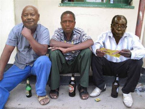 Lol. Who did this to Mugabe and other African leaders?
