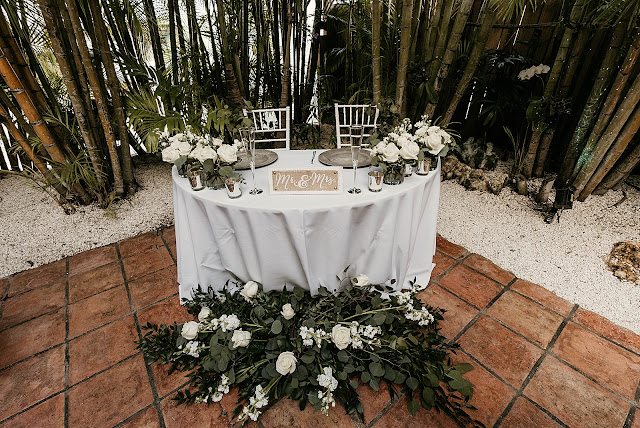 Detail shot of sweetheart table at Reception The Manor on St Lucie Crescent Wedding captured by Stuart Wedding Photographer Heather Houghton Photography