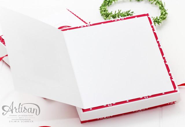 Verpackung mit Karte zum Valentinstag mit Stampin Up