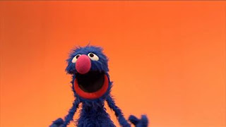 The word Special is introduced by Grover. Sesame Street Episode 4417 Grandparents Celebration season 44