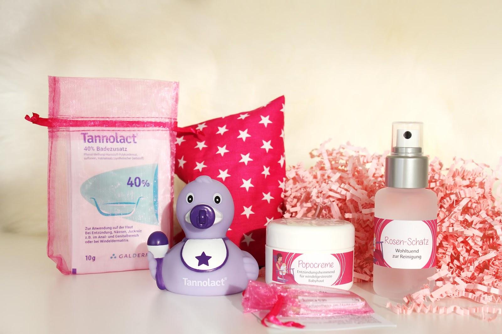 Die Wochenbettbox und ihre Produkte für die ganz kleinen