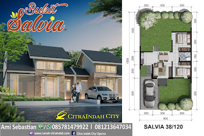 model-denah-rumah-salvia-38-120-Citra-Indah-City