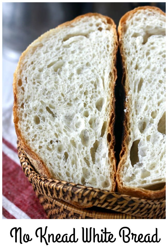 Easy Crusty No Knead Bread