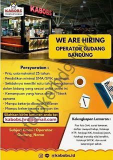 Loker Kabobs Premium Kebab di Bandung