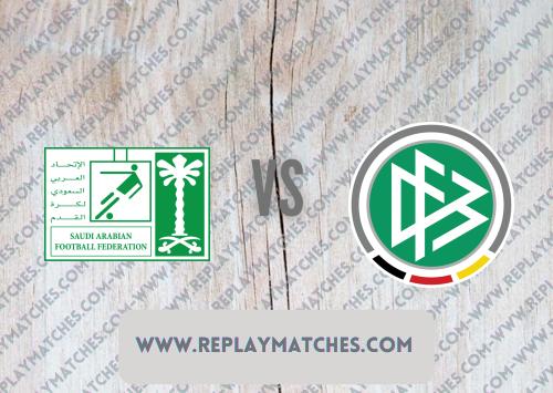 Saudi Arabia U23 vs Germany U23 -Highlights 25 July 2021