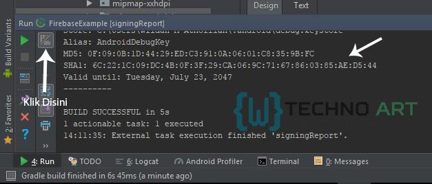 WildanTechnoArt-Mendapatkan Kode SHA-1