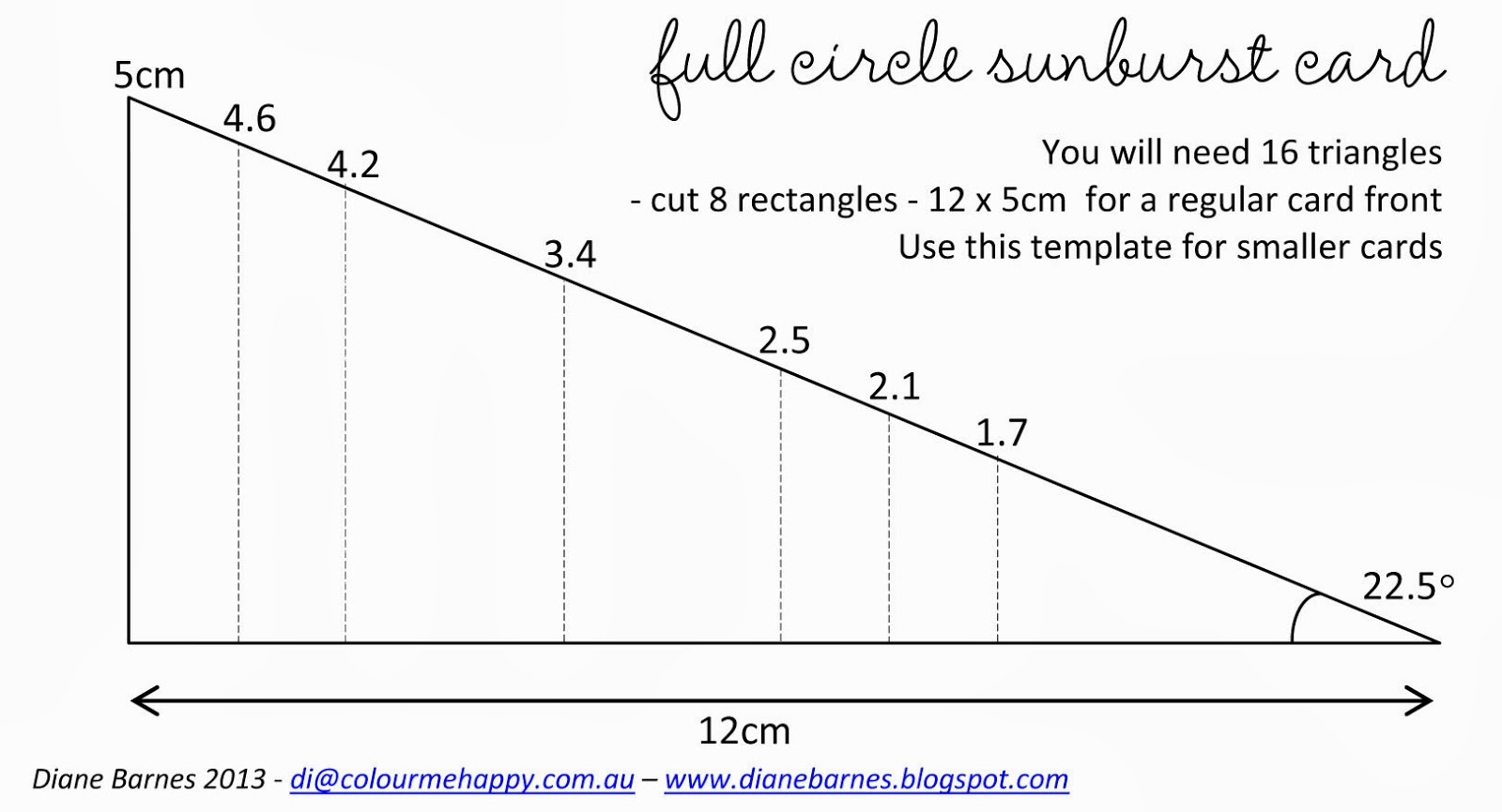 using this template in my instructions below to save paper it will always work as long as the angles remain the same who knew geometry would ever be