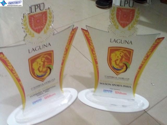 Acylic Trophies  - LPU Laguna