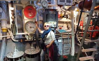 Sala de máquinas del HMS Belfast.
