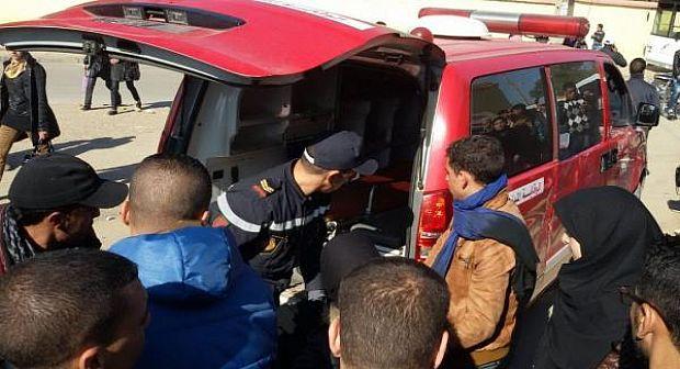 أكادير : حارس إقامة سكنية يرسل صحفيا الى المستعجلات في حالة حرجة